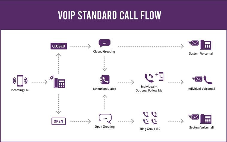 Voip Standard Call Flow